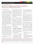 Secured Lending for Agricultural Lenders
